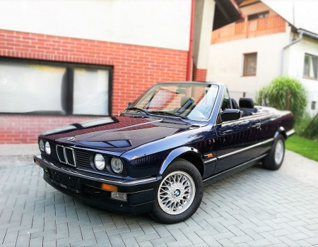 BMW 3er 320i e30 Cabrio, 3/1989 1998ccm (2.0i 6-valec 93kW)