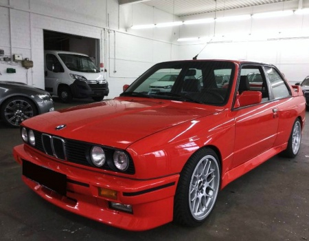 BMW M3 E30 EVO 1, 8/1987, BMW E30 M3 Motorsport
