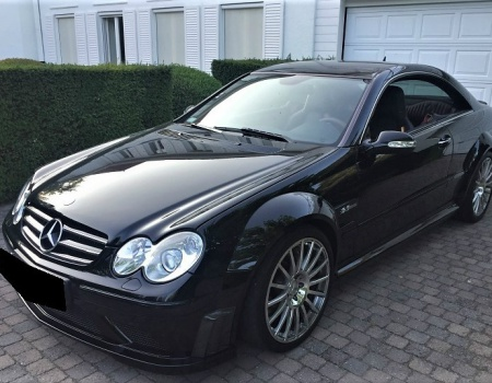 Mercedes-Benz,CLK63 AMG Black Series, 6.2L 373kW,7G AT, 07/2007, 29643km